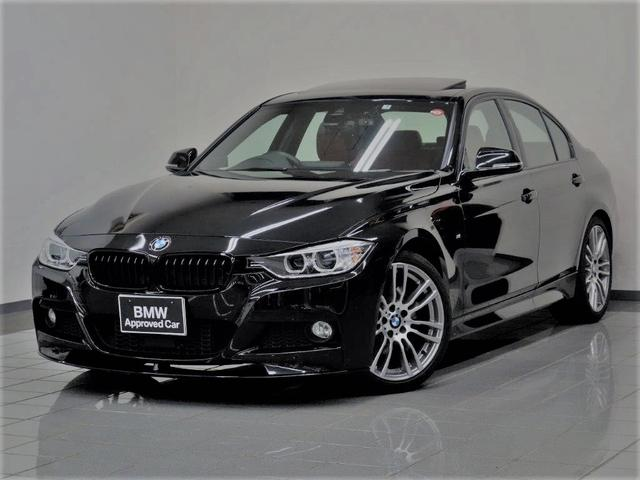 BMW 320d Mスポーツ キセノンヘッドライト アクティブクルーズコントロール 電動ガラスサンルーフ レザーシート パークディスタンスコントロール コンフォートアクセス 19AW