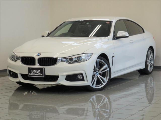 BMW 420iグランクーペ Mスポーツ アクティブクルーズコントロール リヤビューカメラ パークディスタンスコントロール コンフォートアクセス ドライバーアシスト ETC付ルームミラー 19インチダブルスポークスタイリングアロイホィール