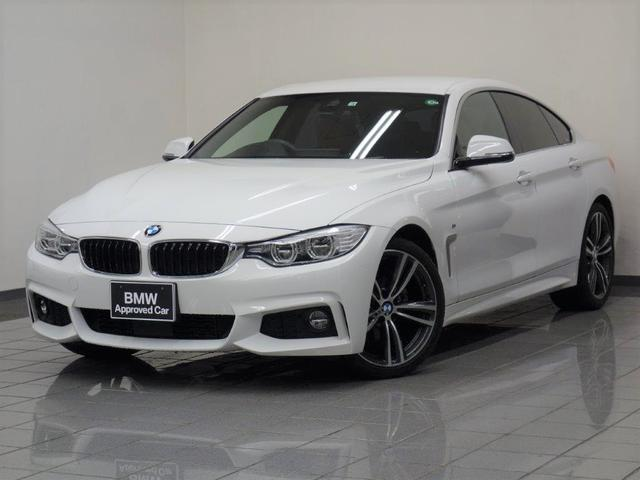 BMW 420iグランクーペ Mスポーツ サドルブラウンレザー アクテイブクルーズコントロール リヤビューカメラ リアパークディスタンスコントロール アダプティブLEDヘッドライト ヘッドアップディスプレー 19インチダブルスポークスタイ