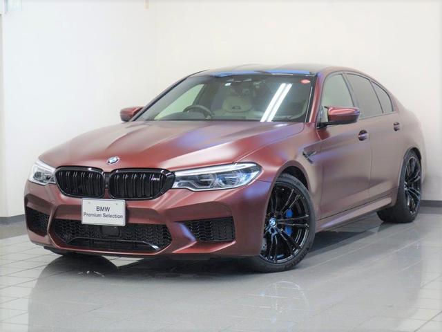 BMW M5 ファーストエディション ホワイトベージュレザー BMWデスプレー Mマルチファンクションシート 4ゾーンエアコンディショナー ソフトクローズドア BOWERS&WILKINSダイヤモンドサウンドシステム 20ダブルスポーク