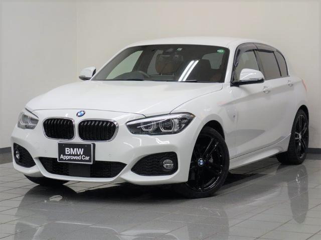 BMW 118d Mスポーツ エディションシャドー コニャックブラウンレザー アクテイブクルーズコントロール ドライバーアシスト パークディスタンスコントロール リヤビューカメラ コンフォートアクセス ETCルームミラー 18インチライトアロイホィール