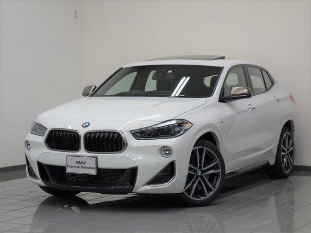 BMW X2 M35i ブラックパーフォレーテッドダコタレザー パノラマガラスサンルーフ アクテイブクルーズコントロール リヤビューカメラ パークディスタンスコントロール ヘッドアップディスプレー 19インチMライトホィール