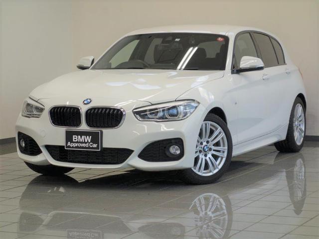 BMW 118i Mスポーツ コンフォートアクセス ドライバーアシスト LEDヘッドライト ブレーキ機能付きクルーズコントロール17インチMライトスタースポークホィール
