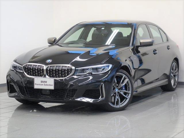 BMW M340i xDrive ブラックブルーステッチヴァーネスカレザー アダプティブMサスペンション コンフォートアクセス アクテイブクルーズコントロール パーキングアシストプラス ジェスチャーコントロール19インチダブルスポーク