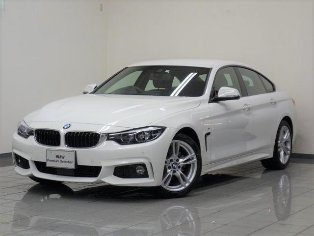 BMW 420iグランクーペ Mスピリット コンフォートアクセス アクテイブクルーズコントロール ドライバーアシスト リヤビューカメラ パークディスタンスコントロール フロントシートヒーティング HiFiスピーカー 18インチスタースポークAW