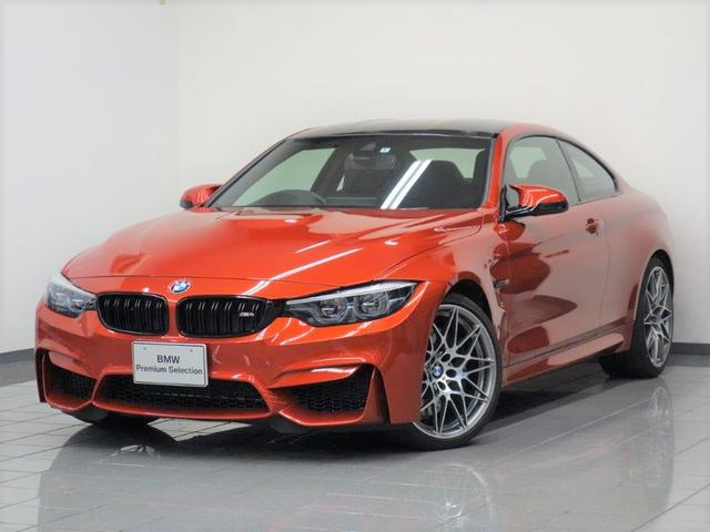BMW M4クーペ ブラックエクステンドデットレザー コンペティッションパッケージ ブレーキ機能付きクルーズコントロール リヤビューカメラ パークディスタンスコントロール コンフォートアクセス ヘッドアップディスプレー