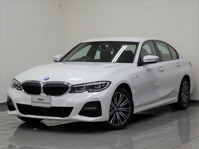 BMW 330e Mスポーツ ハイラインパッケージ ブラックレザー フロントランバーサポート コンフォートアクセス アクテイブクルーズコントロール ドライバーアシスト パーキングアシスト ハイビームアシスタント アダプティブLEDヘッドライト 18AW