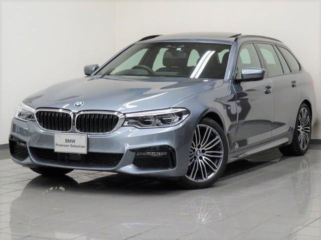 BMW 530iツーリング Mスポーツ ブラックレザー セレクトパッケージ コンフォートアクセス アクテイブクルーズコントロール パノラマガラスサンルーフ アクテイブクルーズコントロール ドライバーアシストプラス 19インチアロイホィール