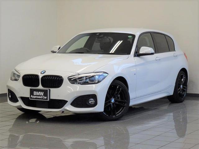 BMW 118d Mスポーツ エディションシャドー ブラックレザー アクテイブクルーズコントロール リヤビューカメラ パークディスタンスコントロール コンフォートアクセス ドライバーアシスト ETC付ルームミラー 18インチMアロイジェットブラック