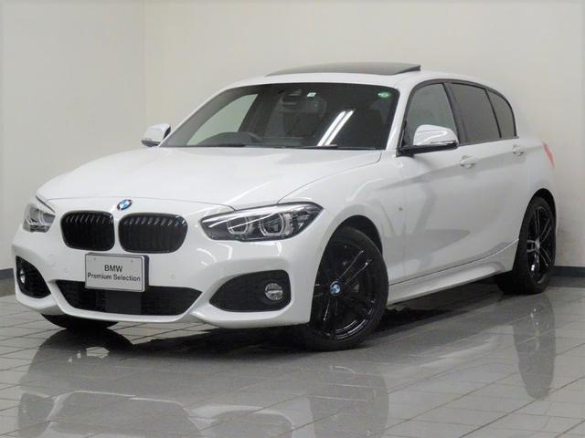 BMW 1シリーズ 118i Mスポーツ エディションシャドー ブラックレザー 電動ガラスサンルーフ コンフォートアクセス アクテイブクルーズコントロール ドライバーアシスト リヤビューカメラ パークディスタンスコントロール ETC付ルームミラー 18インチAW