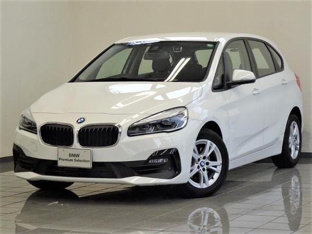 BMW 218iアクティブツアラー LEDヘッドライト リヤビューカメラ パークディスタンスコントロール ドライバーアシスト 16インチダブルスポークアロイホィール