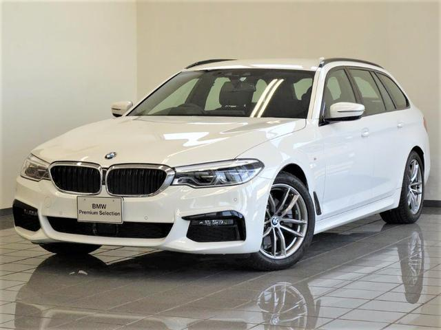 BMW 523d xDriveツーリング Mスピリット コンフォートアクセス アクティブクルーズコントロール ドライバーアシストプラス リヤビューカメラ パーキングアシストプラス アンビエントライト ヘッドアップディスプレー 18インチダブルスポークAW
