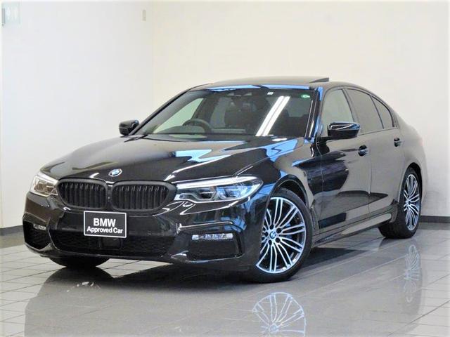 BMW 530i Mスポーツ ブラックレザー 電動ガラスサンルーフ コンフォートアクセス アクティブクルーズコントロール リヤビューカメラ ドライバーアシストプラス パーキングアシストプラス 19インチMライトアロイホィール
