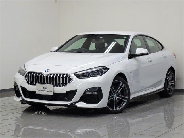 BMW 218dグランクーペ Mスポーツエディションジョイ+ ナビゲーションパッケージ アクティブクルーズコントロール コンフォートアクセス リヤビューカメラ ドライバーアシスト パーキングアシスト ハイビームアシスタント ETC付ルームミラー 18AW