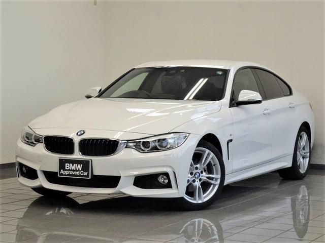 BMW 420iグランクーペ Mスポーツ コンフォートアクセス アクティブクルーズコントロール リヤビューカメラ パークディスタンスコントロール ドライバーアシスト ヘッドアップディスプレー ETC付きルームミラー 18インチAW