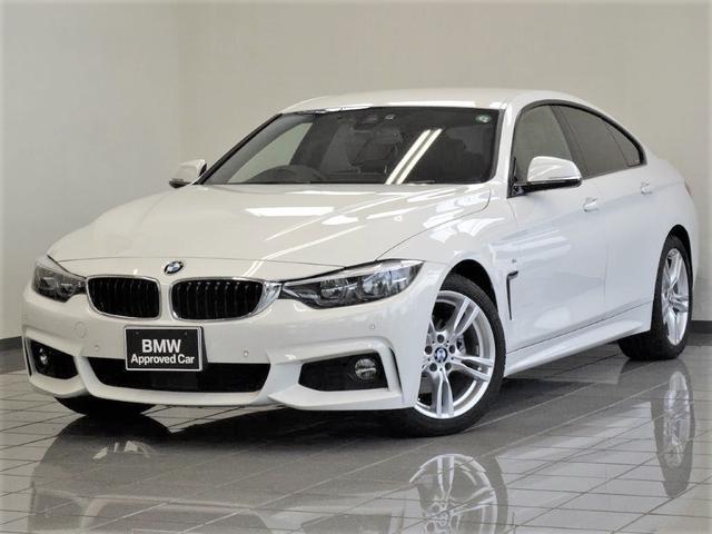 BMW 420iグランクーペ Mスポーツ オイスターレザー アクテイブクルーズコントロール コンフォートアクセス リヤビューカメラ パークディスタンスコントロール 18インチスタースポークアロイホィール
