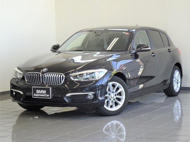 BMW 1シリーズ 118d スタイル ブレーキ機能付きクルーズコントロール ドライバーアシスト リヤビューカメラ パークディスタンスコントロール LEDヘッドライト 16インチYスポークアロイホィール
