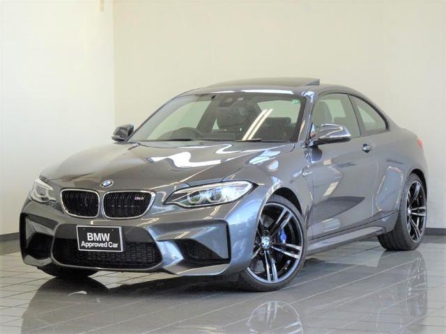 BMW M2 ベースグレード 電動ガラスサンルーフ コンフォートアクセス リヤビューカメラ パークディスタンスコントロール ブレーキ機能付きクルーズコントロール ドライバーアシスト 19インチMダブルスポークアロイホィール