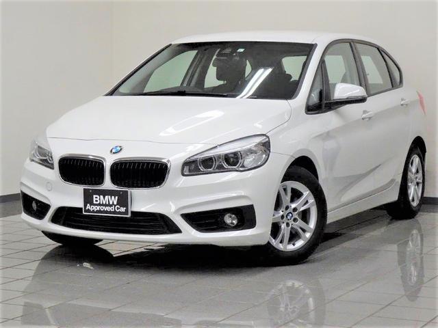BMW 218iアクティブツアラー コンフォートアクセス リヤビューカメラ パークディスタンスコントロール アダプティブLEDヘッドライト 電動リヤシート ETC付きルームミラー 16インチダブルスポークアロイホィール