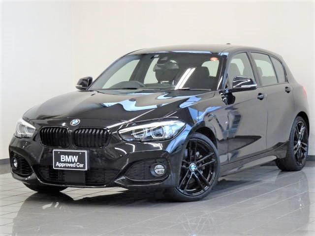 BMW 1シリーズ 118i Mスポーツ エディションシャドー 18インチMライトアロイ719Mジェットブラック ドライバーズアシスト パークアシスト PDC LEDヘッドライト