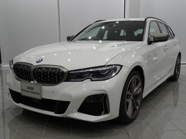 3シリーズ(BMW) M340i xDriveツーリング ブラックヴァーネスカレザー 19インチMライトアロイホイール コンフォートアクセス ヘッドアップディスプレイ TVファンクション 中古車画像