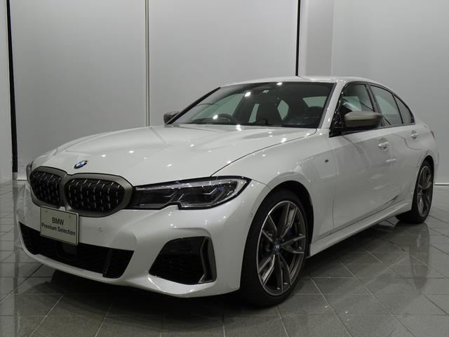 3シリーズ(BMW) M340i xDrive ブラックブルーステッチヴァーネスカレザー 19インチMライトアロイホイール アダプティブMサスペンション コンフォートアクセス アンビエンスライト 中古車画像