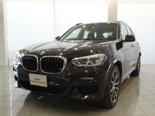 X3(BMW)xDrive 20d Mスポーツハイラインパッケージ 20インチMライトアロイダブルスポーク モカヴァーネスカレザー パノラマガラスサンルーフ TVファンクション ヘッドアップディスプレイ ドライバーアシストプラス パーキングアシストプラス 中古車画像