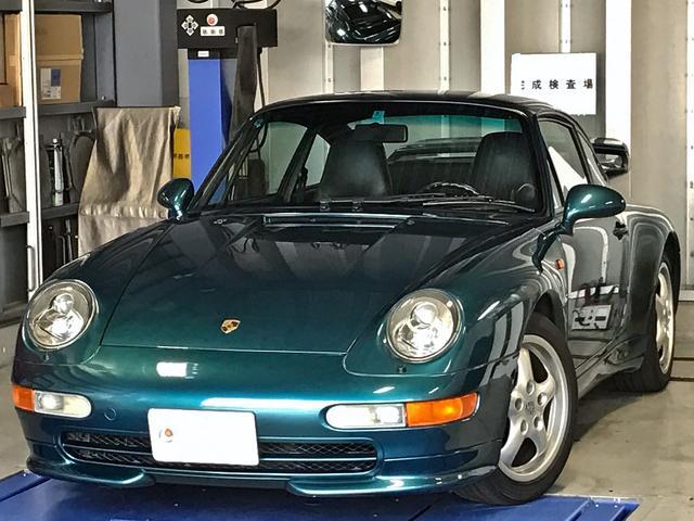 ポルシェ 911カレラ ブラックレザー Rウイング イエローキャリパー