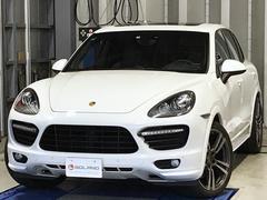 ポルシェ カイエンGTS EU新車並行 Sクロノ パノラマルーフ HDDナビ