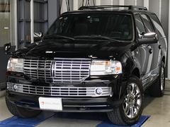 リンカーン ナビゲーター正規ディーラー車 ブラックレザー HDDナビ D記録簿完備