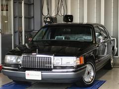 リンカーン タウンカーシグネイチャー D車1オーナー パワーシート 純正15AW