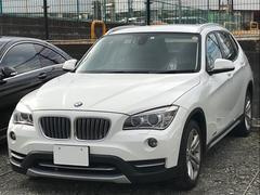 BMW X1sドライブ18ixライン ブラックレザー SDナビ 17AW