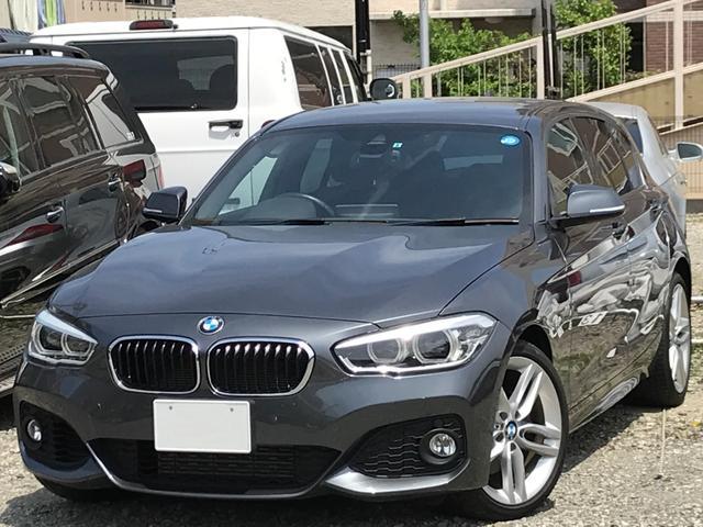 BMW 118i Mスポーツ D車1オーナー 純正ナビ OP18AW