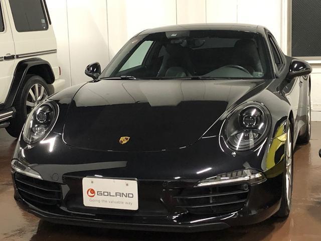 ポルシェ 911カレラS PDK 新車並行車 左ハンドル スポーツクロノPKG ブラックレザー 社外メモリナビ サンルーフ フルセグ対応 バックカメラ パドルシフト シートヒーター 社外レーダー ドラレコ ETC キセノン