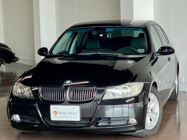 BMW 325i ハイラインパッケージ ディーラー車 左ハンドル ブラックレザー iドライブ 純正16AW パワーシート シートヒーター キセノン ドライブレコーダー 社外レーダー ウッドパネル ミラーETC