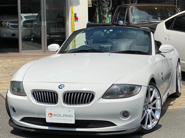 BMW 2.2i ディーラー車 右ハンドル シートヒーター パワーソフトトップ キセノン レムスマフラー GRUPPEMエアクリーナー ダウンサス  社外19AW 社外HDDポータブルナビ 社外フロントリップ ETC