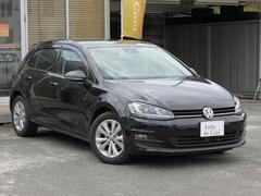 VW ゴルフTSIコンフォートライン パドルシフト スマートキー 純ナビ