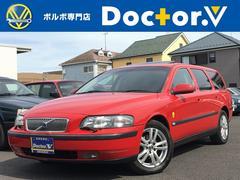 ボルボ V702.4 記録簿 サンルーフ 黒本革 AW ETC 直接買取車
