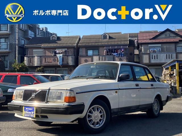 ボルボ 240 GL メッキモール 純正ホイール 純正カセットデッキ グレーインテリア 保証付