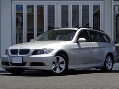BMW325iツーリング ハイラインパッケージ 黒革 外ナビカメラ