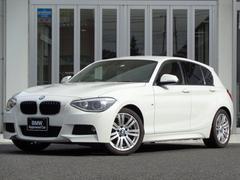 BMW116i Mスポーツ パーキングアシスト 社外赤革 ナビ