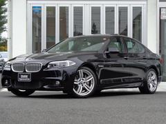 BMW550i Mスポーツ サンルーフ レザーシート