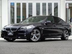 BMW523i Mスポーツハイライン 社外19インチアルミ レザー