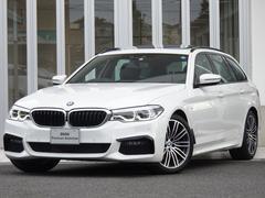 BMW523dMスポSRセレクトPハイライン黒革HUD縦列HIFI