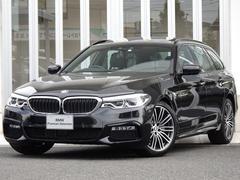 BMW523MスポSRイノベPハイラインACC黒革ウッド縦列HUD
