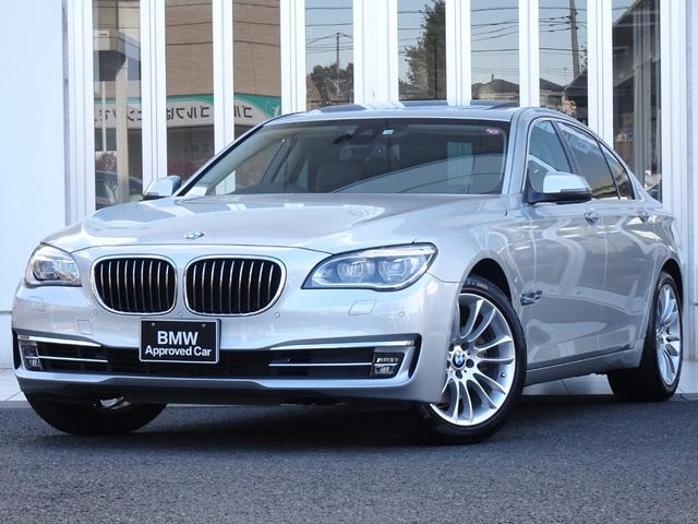 BMW 7シリーズ 740i 後期型 プラスパッケージ サンルーフ LEDヘッドライト 黒レザーシート 19インチアルミ マルチメーター ソフトクローズドア 電動トランク 地デジ付ナビ SOSコール ドライビングアシスト