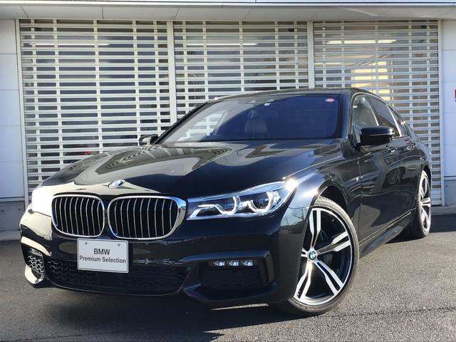 BMW 7シリーズ 740d xDrive Mスポーツ サンルーフ 黒レザー レーザーライト 20インチアルミ ACC ヘッドアップディスプレイ ハーマンカードンスピーカー ソフトクローズドア 電動リアゲート