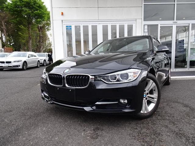 BMW 3シリーズ 320i スポーツ ストレージパッケージ HDDナビ バックカメラ 17インチアルミ ETCミラー Bluetoothハンズフリーフォン コンフォートアクセス キセノン リアガラスフイルム