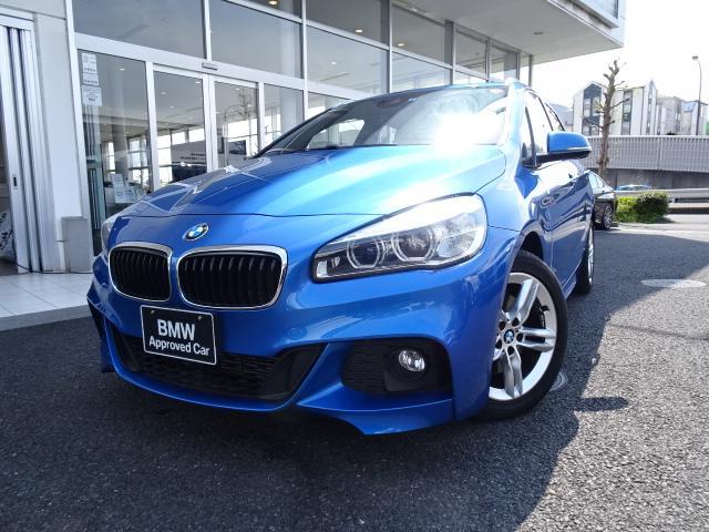 BMW 218iアクティブツアラー Mスポーツ HDDナビ バックカメラ 電動リアゲート 17インチアルミ 2.0ETCミラー コンフォートアクセス LEDヘッドライト! ドライビングアシスト USBオーディオインターフェイス SOSコール