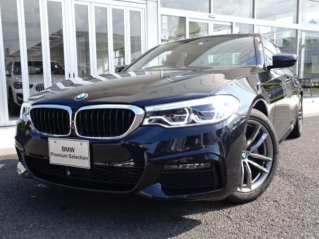 BMW 5シリーズ 523d xDrive Mスピリット 新車保証付 デモカー 4WD LEDヘッドライト ヘッドアップディスプレイ ACC 地デジ付タッチパネル式HDDナビ 電動スポーツシート ドライビングアシスト パーキングアシスト 18インチアルミ